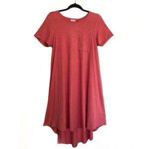 LuLaRoe Coral Carly Swing Dress